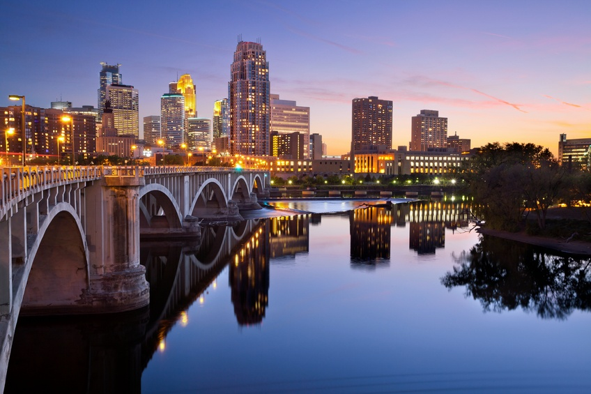 Minneapolis downtown skyline