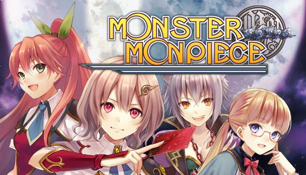 The cover of Monster Monpiece video game