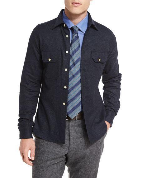 shirt jacket, men's style