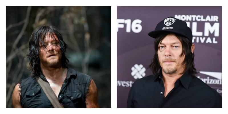 Norman Reedus in The Walking Dead Norman Reedus at the Montclair Film Festival 2016 Dave Kotinsky/Getty Images