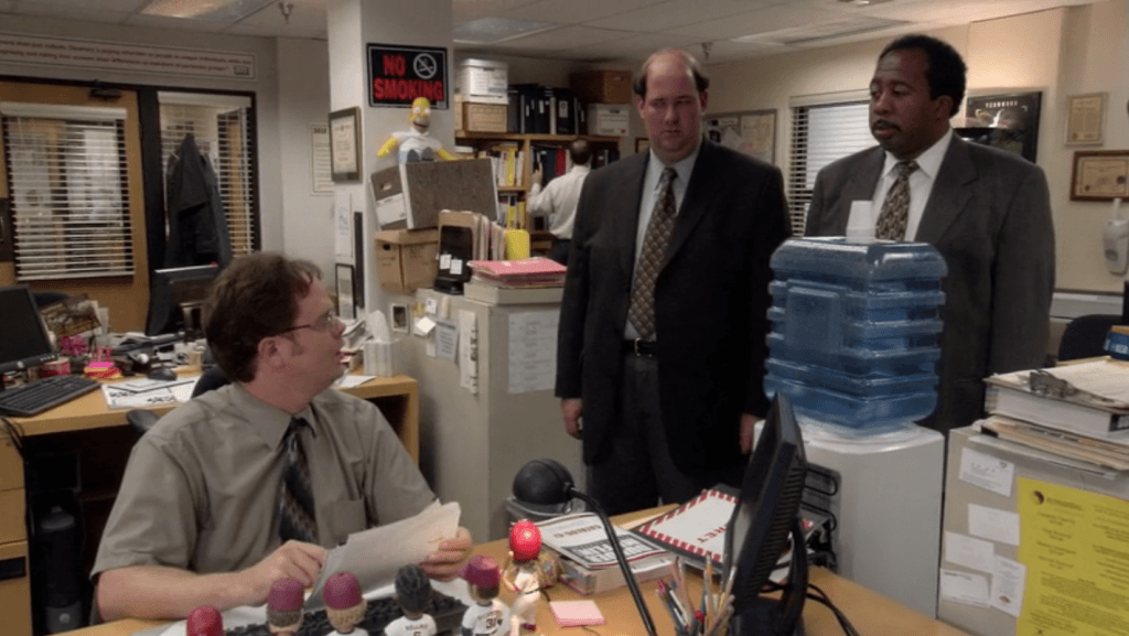 The Office, small talk