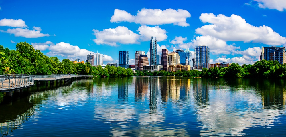 Austin Texas Reflections Lady Bird Lake