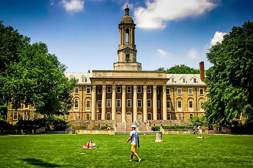 Penn State University campus