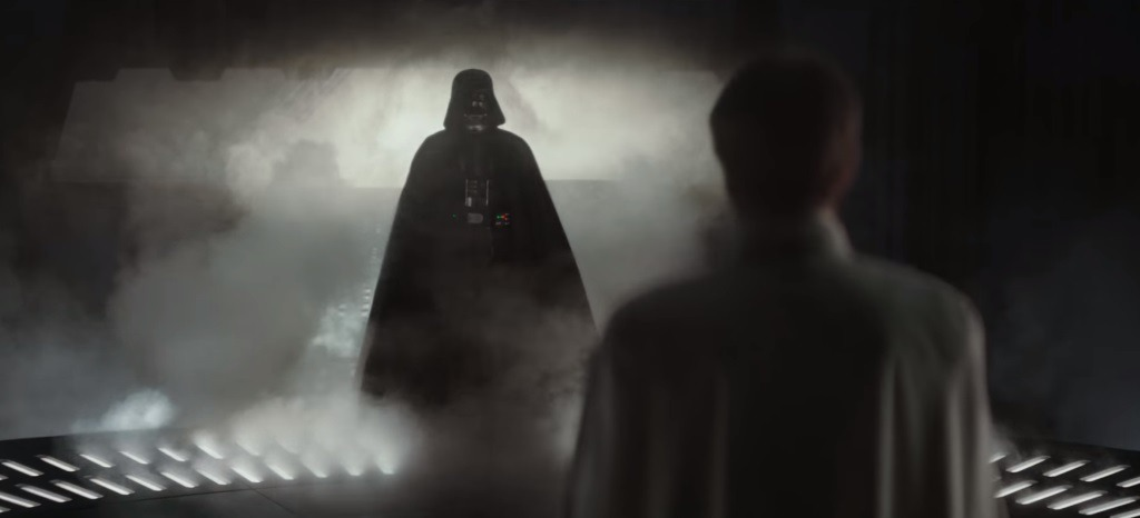 Darth Vader in Rogue One