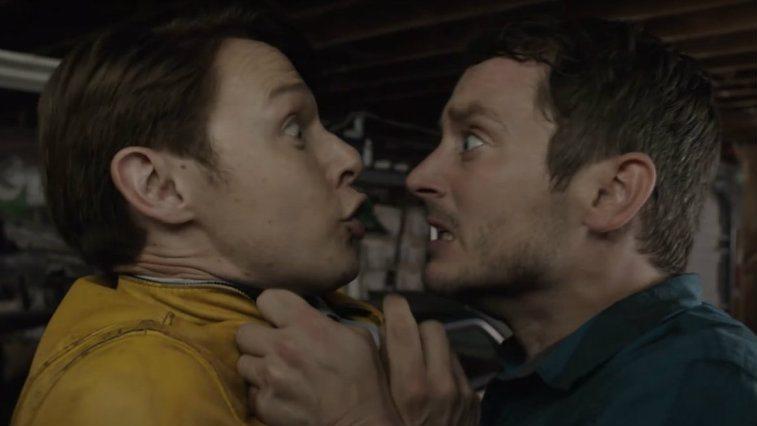 Samuel Barnett and Elijah Wood in Dirk Gently's Holistic Detective Agency