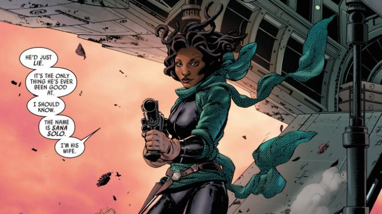 Sana Solo in Marvel Comics