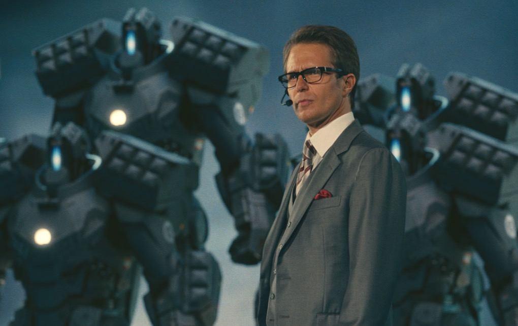 Justin Hammer in Iron Man 2