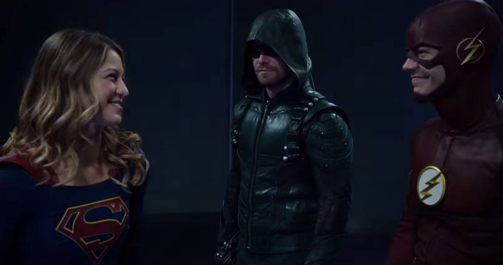 CW Superhero Crossover - The Flash, Arrow, and Supergirl