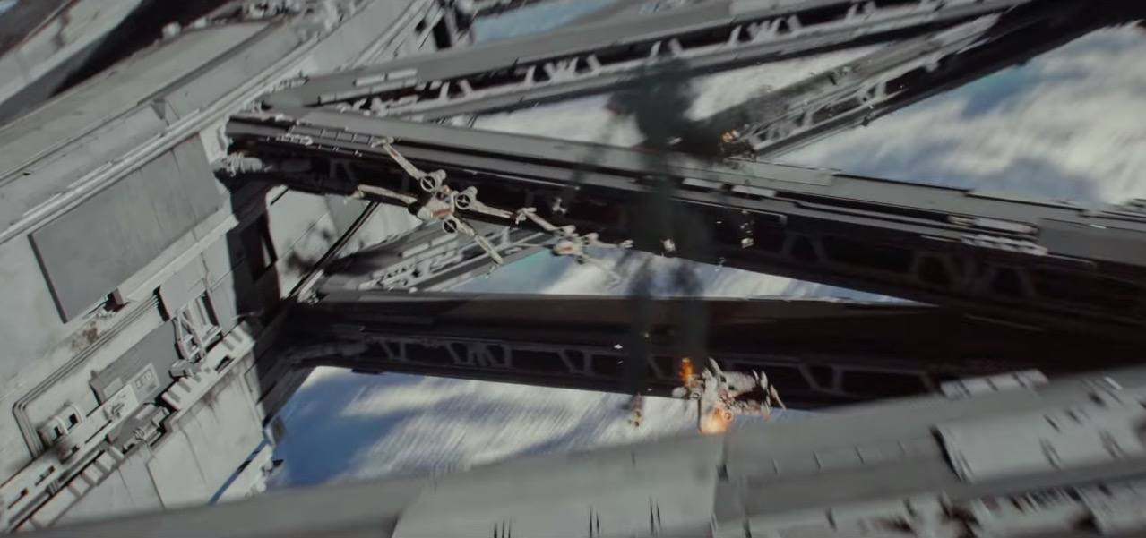 X-Wings take flight in Rogue One