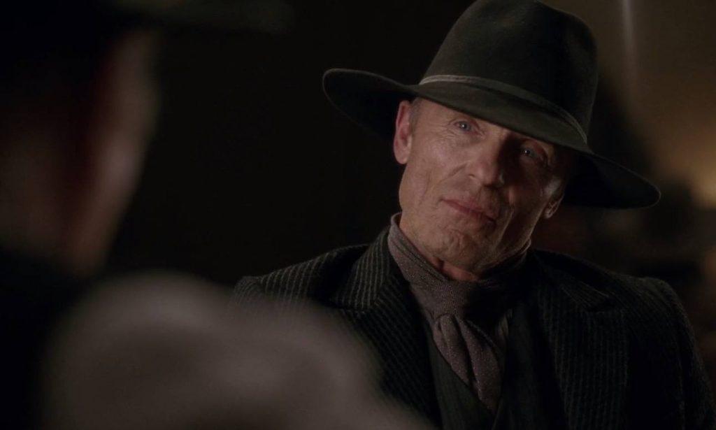 Ed Harris in Westworld