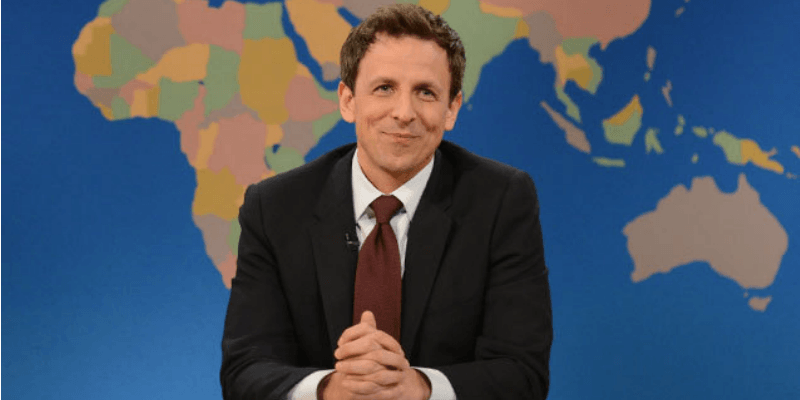 Seth Meyers on Saturday Night Live