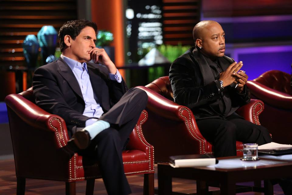 Mark Cuban and Daymond John