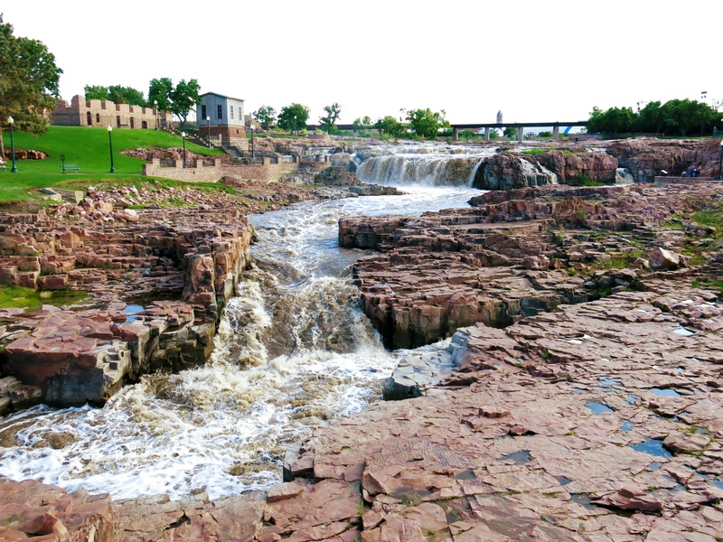 sioux falls falls park south