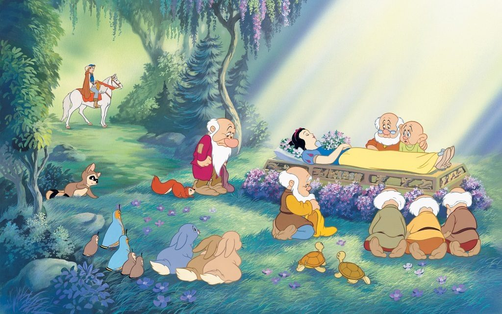 Snow White tops the list of highest grossing Disney movies.