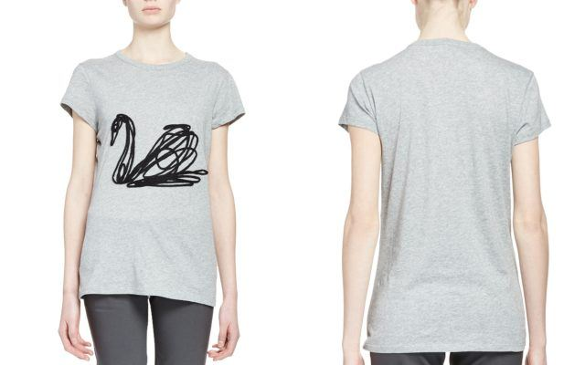 Stella McCartney Scribbled Swan T-Shirt