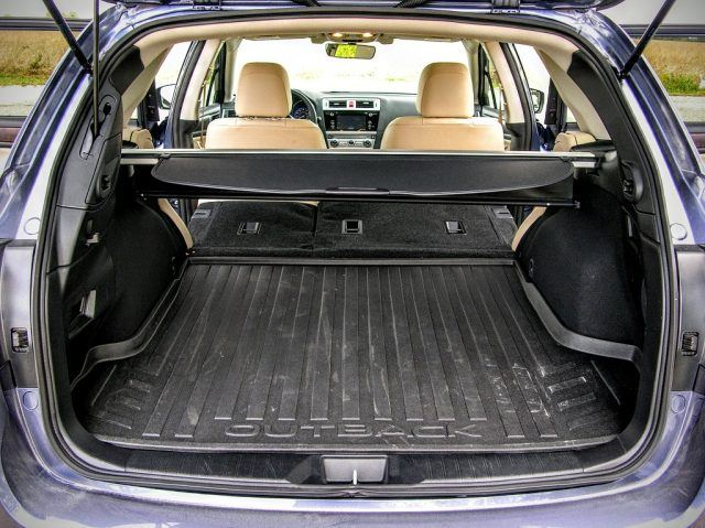 Outback cargo space