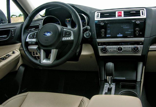 Subaru Outback leather interior