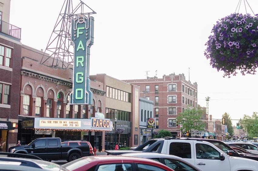 strett in Fargo, North Dakota
