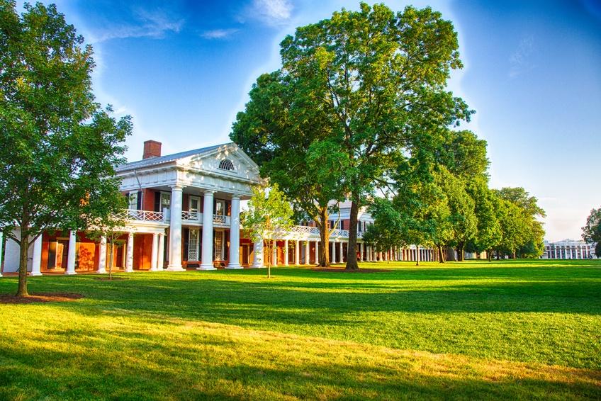 University of Virginia campus