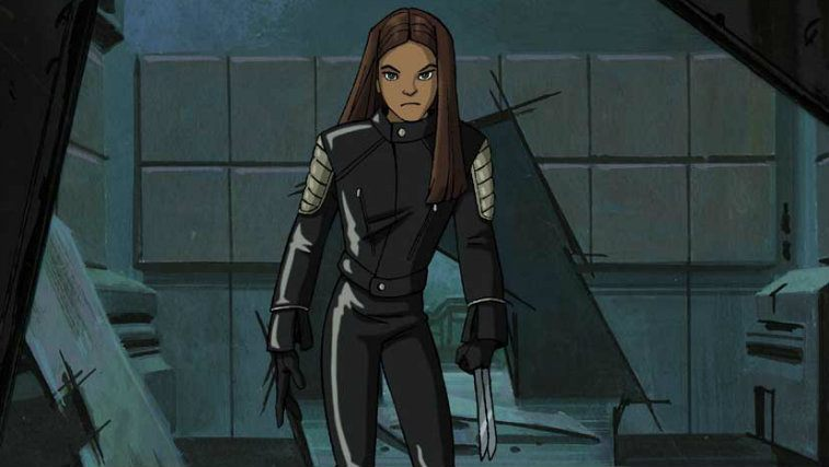 X-23 on X-Men Evolution