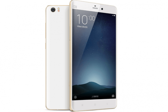 Xiaomi Mi Note - phones that look like the iPhone