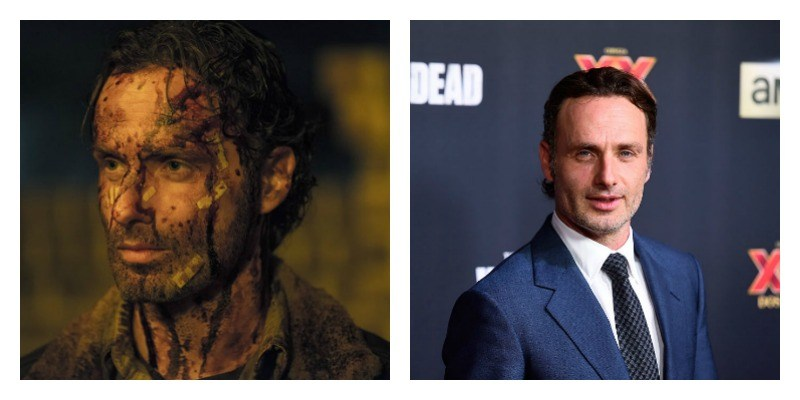What the Stars of 'The Walking Dead' Look Like in Real Life