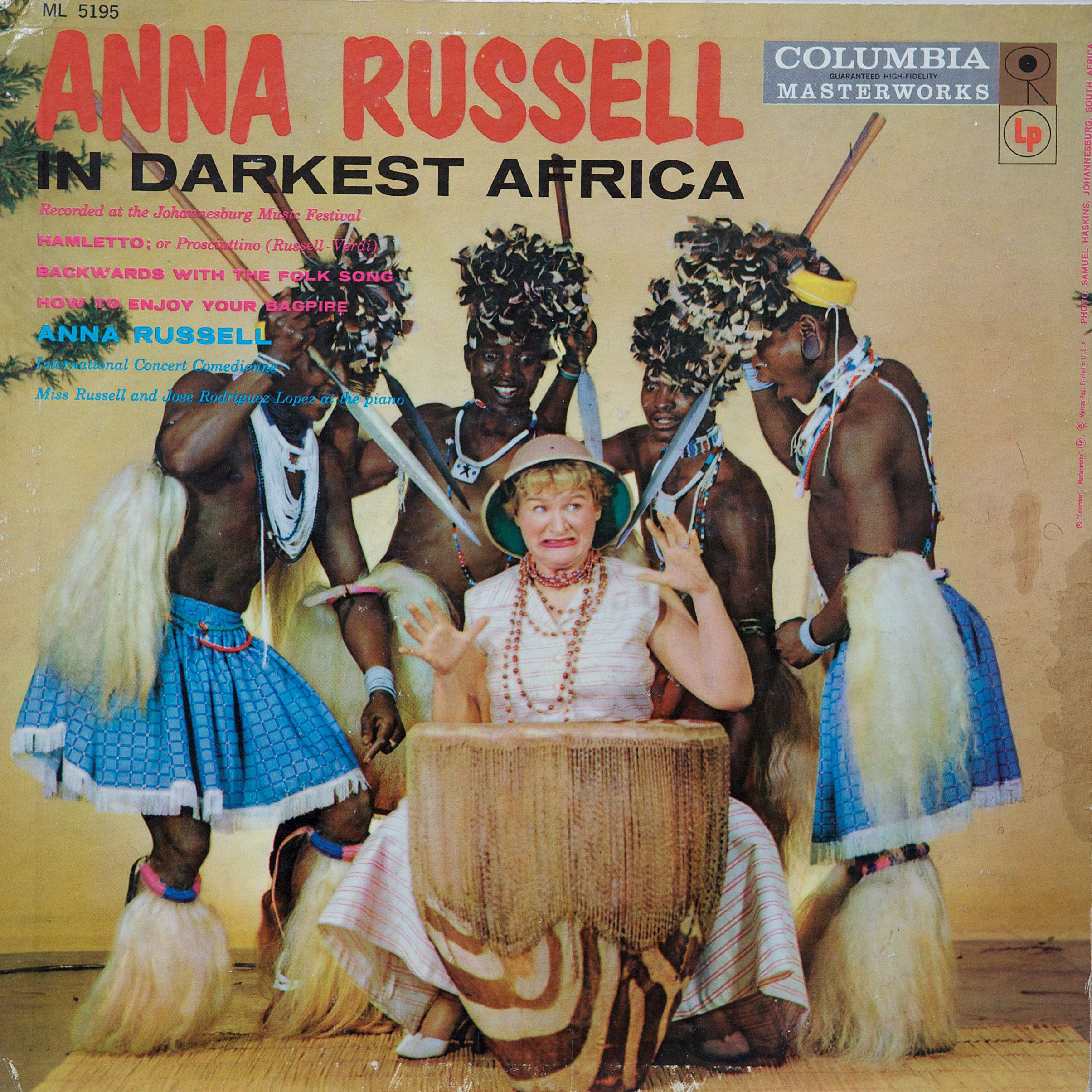 Album artwork for 'In Darkest Africa' by Anna Russel