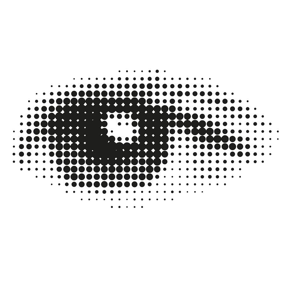 baby girl eye