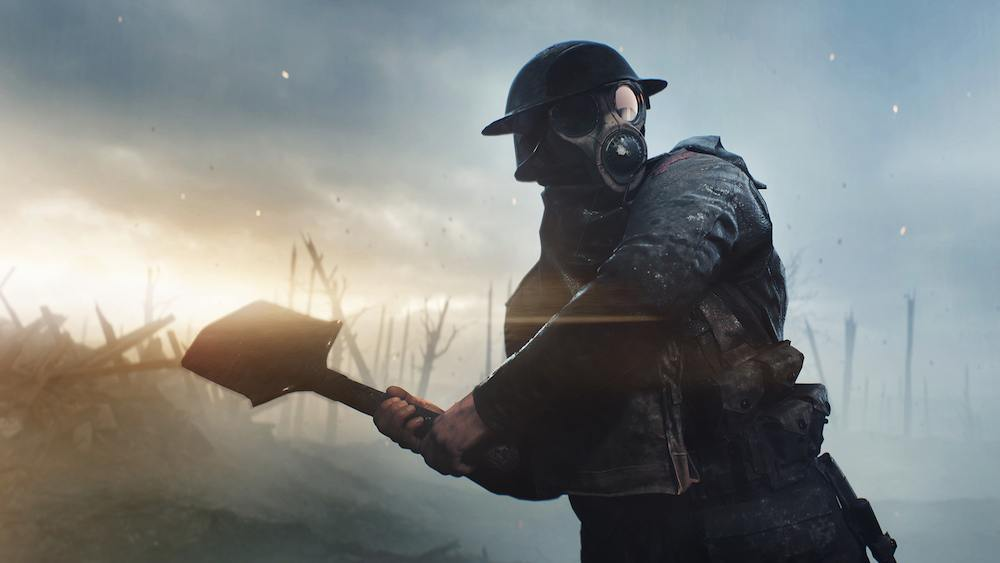 Trench soldier in 'Battlefield 1'