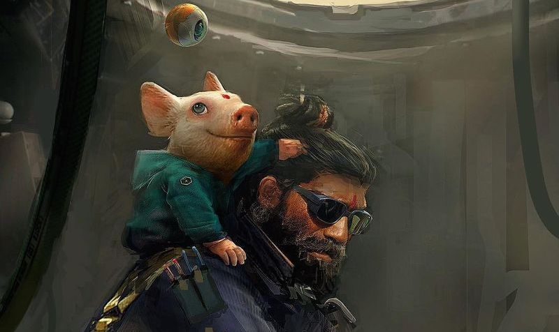 Possible 'Beyond Good and Evil 2' promo art