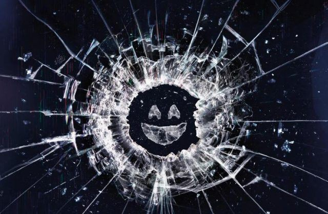 The Season 3 logo for Netflix's 'Black Mirror'