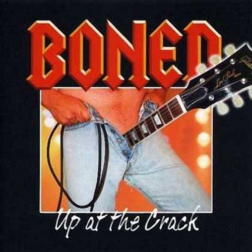 Album artwork for Up At The Crack by Boned