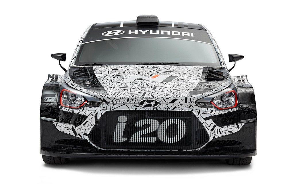2017 Hyundai i20 WRC car