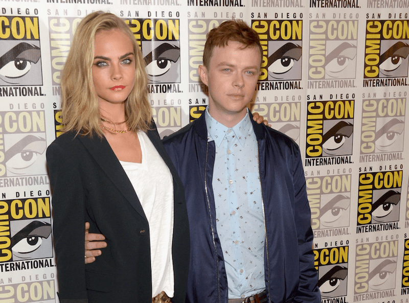 Cara Delevingne and Dane DeHaan | Dave Mangels/Getty Images
