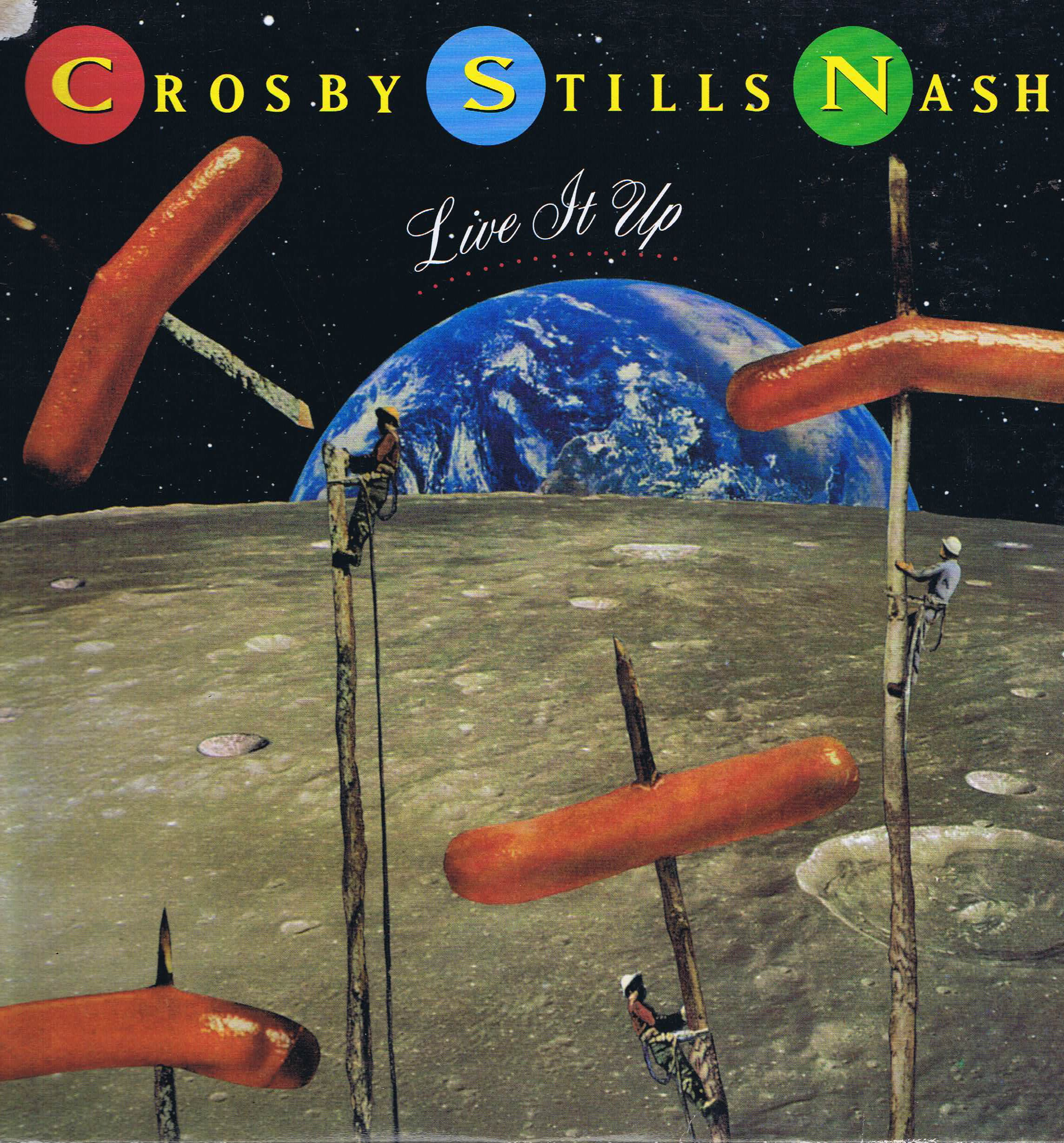 Album artwork for 'Live It Up' by Crosby, Stills, and Nash
