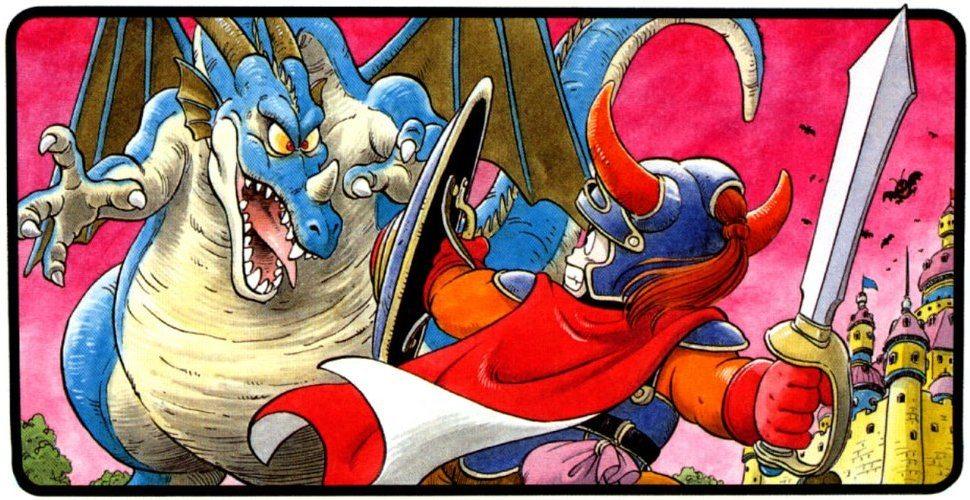 Promo art for 'Dragon Quest'