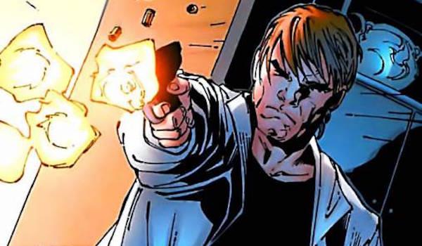 Dr. Zander Rice appear in 'Logan' Marvel Comics