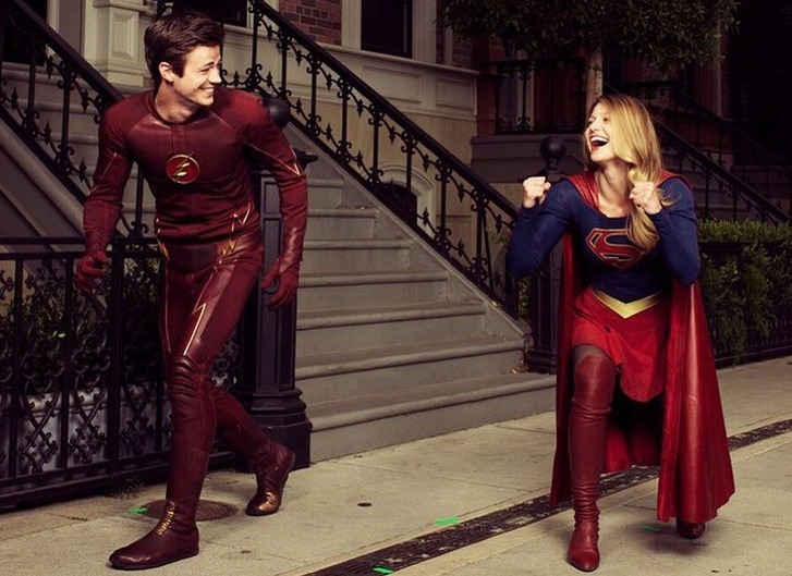 The Flash and Supergirl