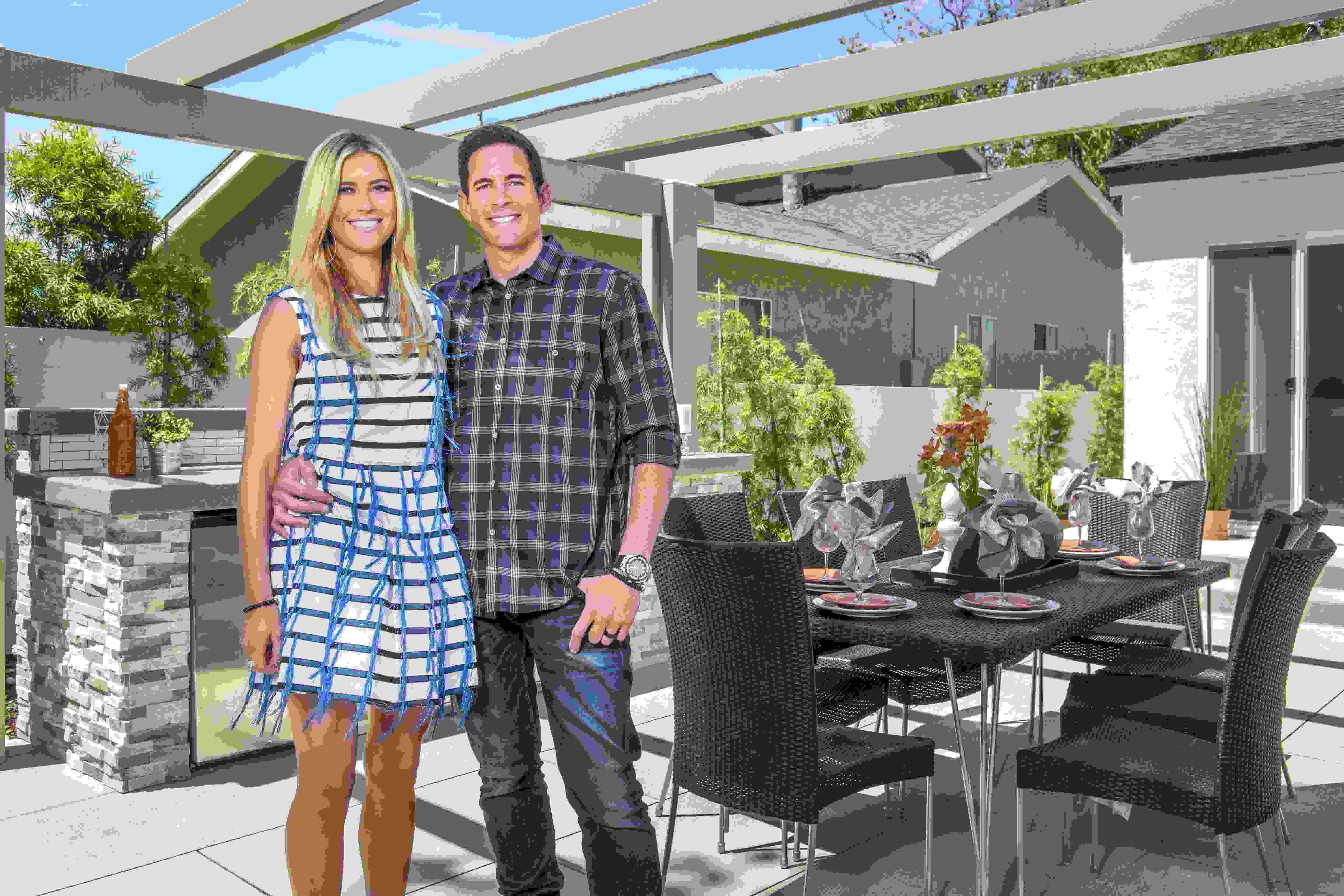 Christina and Tarek El Moussa of Flip or Flop
