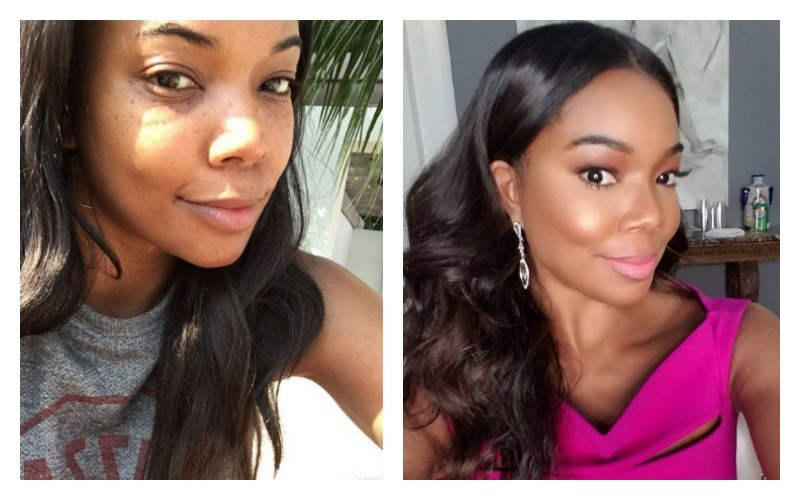 Gabrielle Union Without Makeup 10 Celebrities Who Loo...