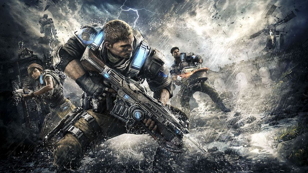 The cover art for 'Gears of War 4'
