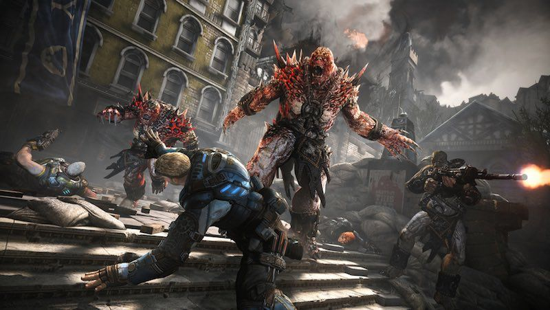 "A new enemy in ""Gears of War 4"""