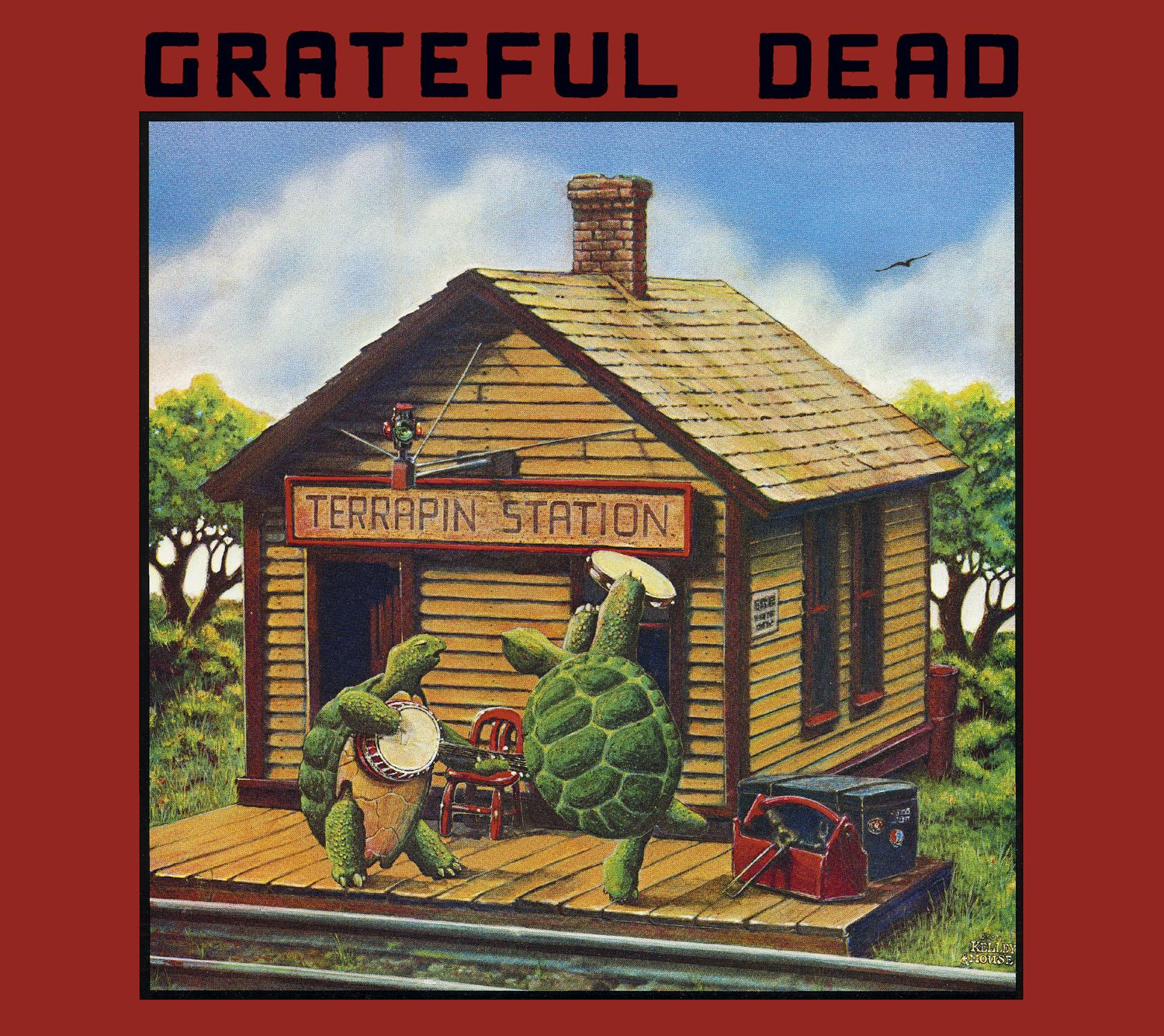 Album artwork for 'Terrapin Station' by The Grateful Dead   Arista Records