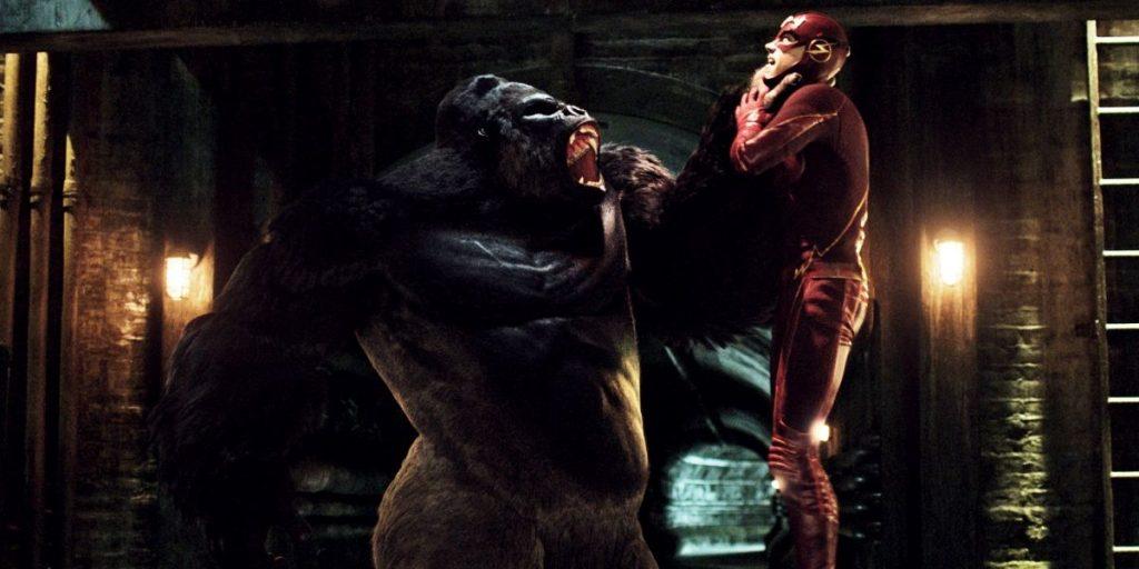 The Flash and Gorilla Grodd