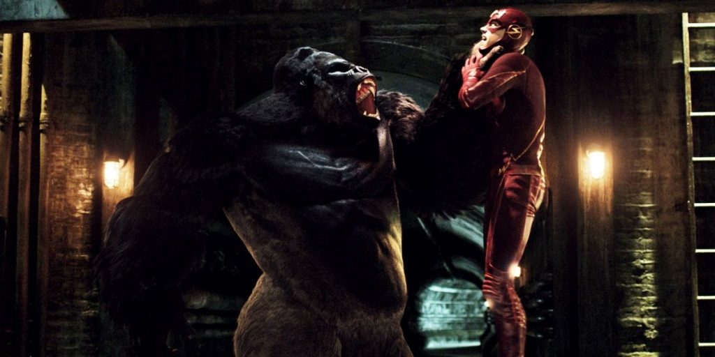 The Flash and Gorilla Grodd