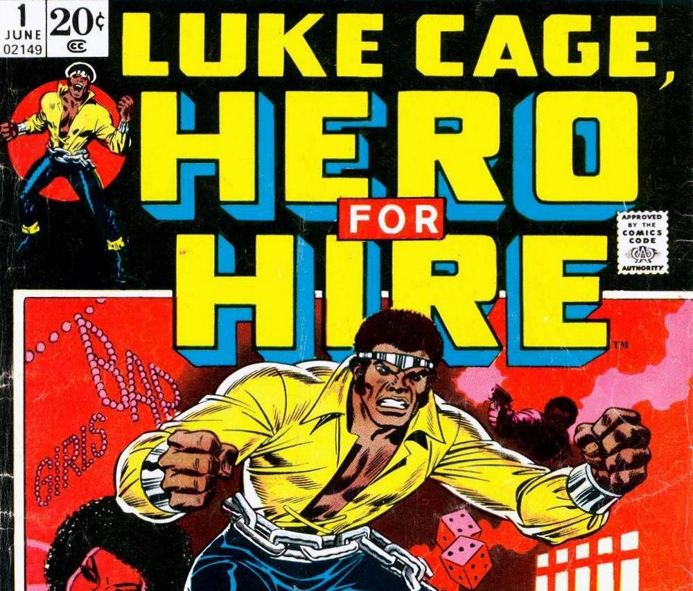 Luke Cage - Hero For Hire comic book