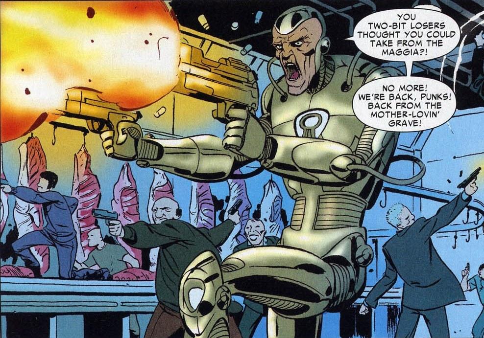 Silvermane   Marvel Comics
