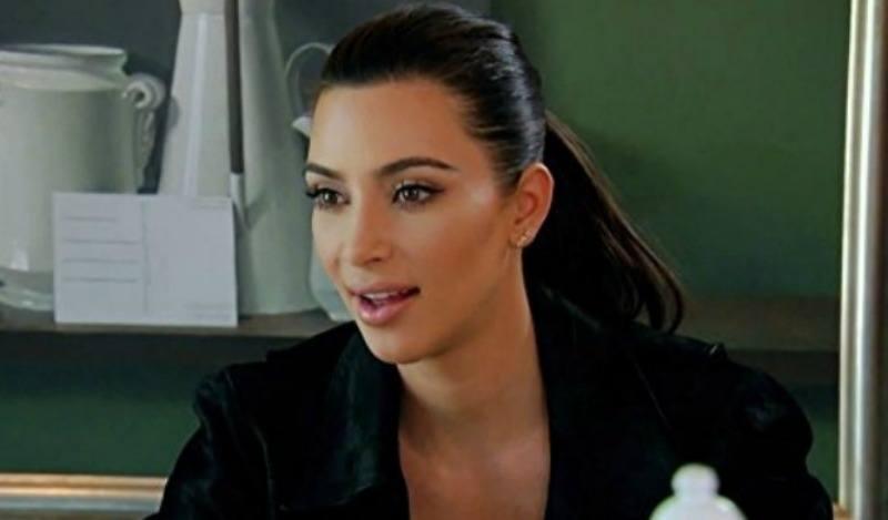 Kim Kardashian on Keeping Up With the Kardashians E!