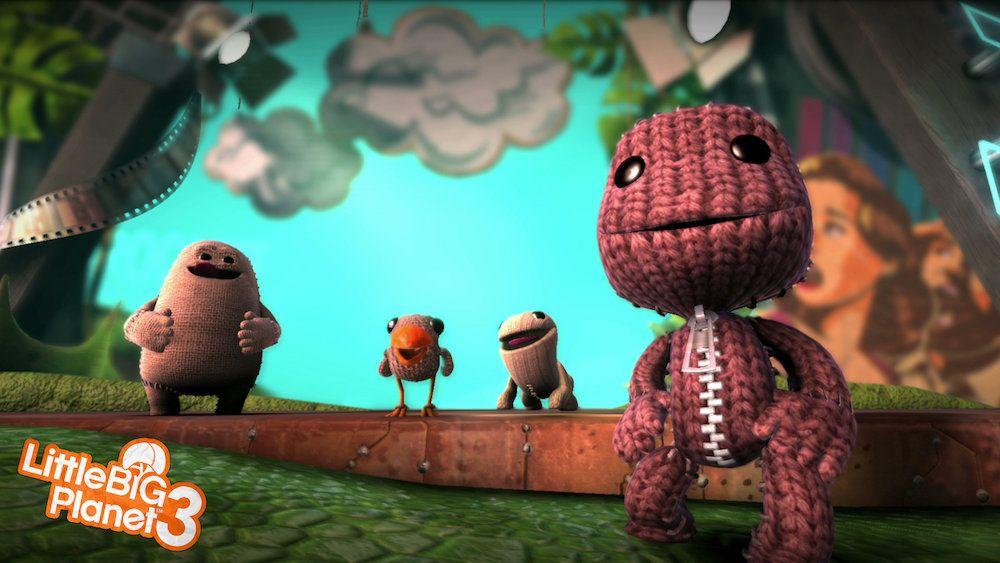 Sackboy from 'LittleBigPlanet 3'