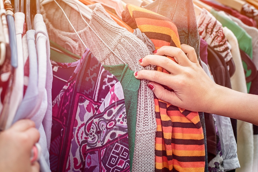 flea market for clothes